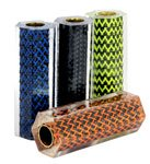Carbon Fiber Metal Braid & Leather Pen Blanks