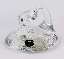 Art Glass Pen Holder Paperweight by Neil & C. Lyon - Number Series Extra Large #08