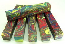Color Explosion Pen Blanks #01 - Crayon Colors