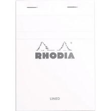 Rhodia Ice N13 Pad - Top Staplebound 4 x 6 Lined Paper