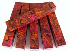 Color Explosion Pen Blanks #14 - Dragon's Breath