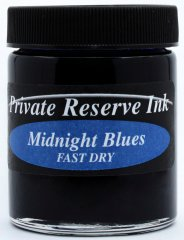 Private Reserve Fast Dry Bottled Ink 66ml - Midnight Blues