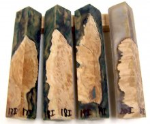RainBurl Worthless Wood Pen Blanks #17-20I