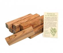 Bethlehem Olivewood Offcuts - 1lb Package