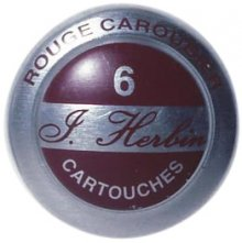 Rouge Caroubie J. Herbin Cartridges - Tin of 6