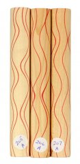 Segmented Serpentine Blanks - Thin Red Line #205-207A