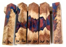 RainBurl Hybrid Pen Blanks #21-25N