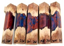 RainBurl Hybrid Pen Blanks #26-30N