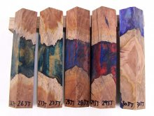 RainBurl Hybrid Pen Blanks #26-30JJ