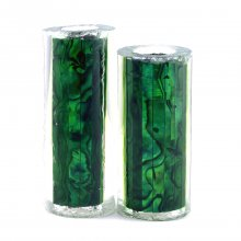 Paua Abalone Shell Pen Blank - Jr. II Series - Emerald #2679