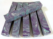 Color Explosion Pen Blanks #28 - Ruffled Iris