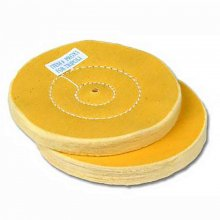 Tripoli Resin Buffing Wheels - 4 in - 2 Pack