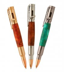 Magnum Bolt Action Pen Kit Starter Set - 3 Pen Kits