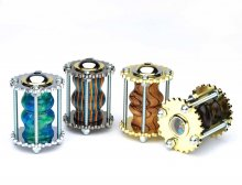 3 Steampunk Kaleidoscope Kit Starter Set