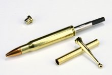 30-06 Springfield (Real Shell) Pen Kit - Brass/Gold