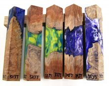 RainBurl Hybrid Pen Blanks #31-35JJ