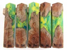 RainBurl Hybrid Pen Blanks #31-35II