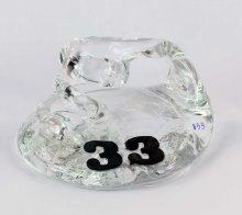 Art Glass Pen Holder Paperweight by Neil & C. Lyon - Number Series Extra Large #33