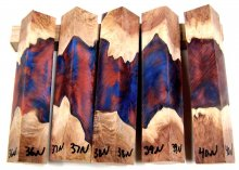 RainBurl Hybrid Pen Blanks #36-40N