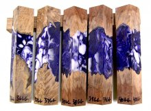 RainBurl Hybrid Pen Blanks #36-40GG