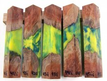 RainBurl Hybrid Pen Blanks #41-45II