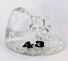 Art Glass Pen Holder Paperweight - #43