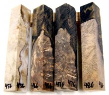 RainBurl Worthless Wood Pen Blanks #45-48G