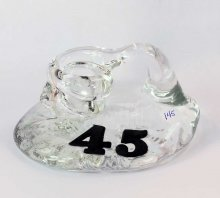 Art Glass Pen Holder Paperweight - #45