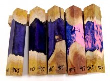 RainBurl Hybrid Pen Blanks #46-50J