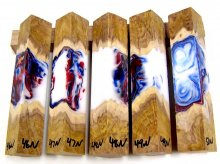 RainBurl Hybrid Pen Blanks #46-50N