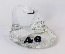 Art Glass Pen Holder Paperweight - #46