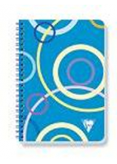 "Clairefontaine Collections ""Cirque"" Notebooks - Side Wirebound 6 x 8.25 Lined/Blank"