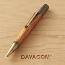 Exemplar (Professor) Ballpoint Pen Kit - Antique Brass