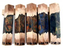RainBurl Hybrid Pen Blanks #61-65MM