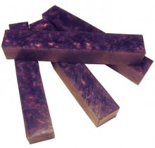 Purple Illusion Rhino Plastic Pen Blanks