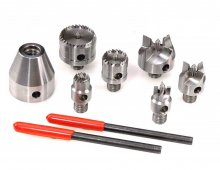 Multi Spur Drive Center Set - 7 Piece