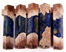 RainBurl Hybrid Pen Blanks #76-80LL