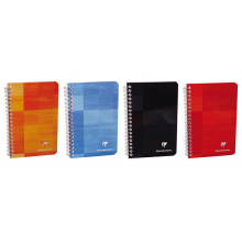 Clairefontaine Classic Notebooks - Side Wirebound 6 x 8.25  Graph Paper (Assorted Colors)