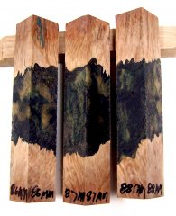 RainBurl Hybrid Pen Blanks #86-88MM