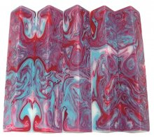 Lava Explosion Pen Blanks #86 - My Fair Lady