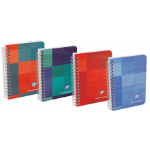 Clairefontaine Classic Notebooks - Side Wirebound 4 3/4 x 6 3/4 Lined Paper (Assorted Colors)