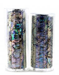 Paua Abalone Shell Pen Blank - Paua Heart Jr. Series #1348