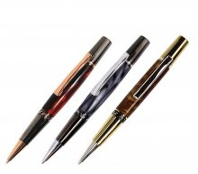 Aero Pen Kit Sampler - 3 High End Platings