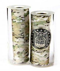 Air Force Button & Camo Pen Blanks - Jr II Series