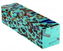 Alumilite Project Blank - Turquoise Mosaic
