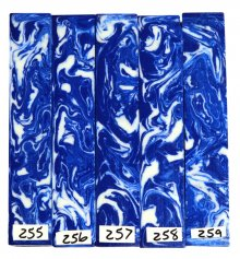 John's Alumilite Pen Blanks #256-259 - Please Choose