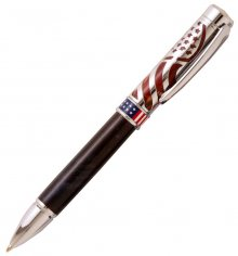 American Pride Ballpoint Pen Kit - Chrome.