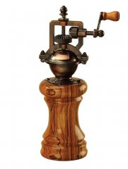 Antique Style Peppermill Kit - Antique Copper Finish