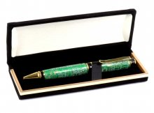 Apprentice Velvet Pen Box. Open View
