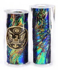Army Button & Opal FX Pen Blanks - Jr II Series